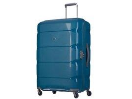 Duża walizka PUCCINI PP008 A turkusowa