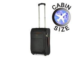 Mała walizka PUCCINI EM-50307 C czarna