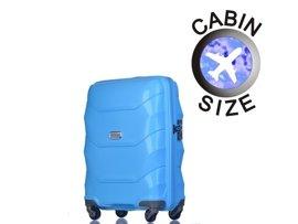 Mała walizka PUCCINI PP011 C niebieska